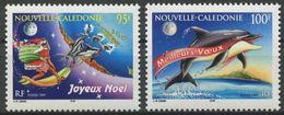 """Nle-Caledonie YT 744 & 745 """" Noël Et Nouvel An """" 1997 Neuf** - Nouvelle-Calédonie"""