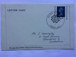 GB - 5d Letter Card - National Postal Museum Handstamp - 1952-.... (Elizabeth II)