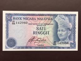 MALAYSIA P13B 1 RINGGIT 1981 UNC - Malaysie