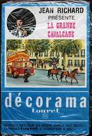 DECORAMA DECALCOMANIES TRANSFERT TOURET - Jean Richard - La Grande Cavalcade - Old Paper