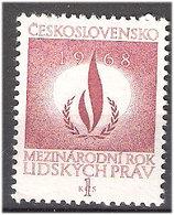 Czechoslovakia 1968 International Year Of Human Rights, Mi 1772 MNH(**) - Czechoslovakia