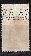 ANCOPER - N°  A S A.182  -  Perforation  A  S  A  Sur  N° Y&T   N° 120     -  Oblitéré - France