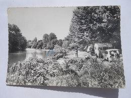 CPSM 34 - BESSAN LE CAMPING LA PLAGE - CARAVANE - Francia