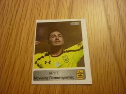 Manolis Papasterianos Aris Football Europe's Champions 2013-2014 Greek Sticker - Adesivi