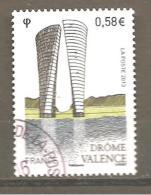 France 2013  N ° Y T 4735  - Oblitéré Cachet Rond   Valence (Drôme) - France