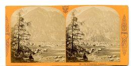 Austria - Autriche  Tirol - Umhausen Photo Stereo  Circa 1870 Par Ernest Lamy - Photos Stéréoscopiques
