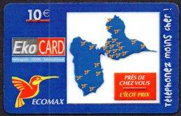 Télécarte Magasin ECOMAX Guadeloupe Martinique Guyane Réunion - Alimentación