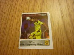 Vasilis Triantafyllakos Aris Football Europe's Champions 2013-2014 Greek Sticker - Adesivi