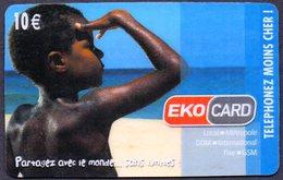 Télécarte Magasin EKO CARD Guadeloupe Martinique Guyane Réunion - Personajes