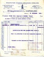 84.VAUCLUSE.VEDENE.MANUFACTURE D'ENGRAIS ORGANIQUES ANIMALISES.Ets.L.CAPODURO. - Landwirtschaft