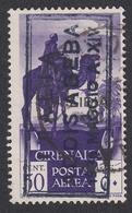 Eritrea: ITALIA ADDISABEBA 1936 MAGGIO A XIV - POSTA AEREA (Cirenaica) Soggetti Africani 50 C. Violetto - 1936 (B) - Eritrea