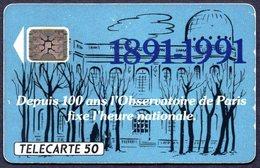 Télécarte OBSERVATOIRE DE PARIS 1991 - Astronomùia