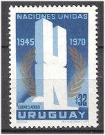 Uruguay 1970 25 Years United Nations. (U.N), Mi 1171 MNH(**) - New York -  VN Hauptquartier