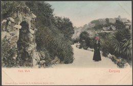 Rock Walk, Torquay, Devon, C.1903 - Stengel & Co U/B Postcard - Torquay