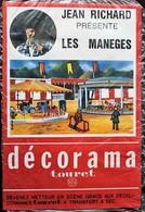 DECORAMA DECALCOMANIES TRANSFERT TOURET - Jean Richard - Les Manèges - Old Paper