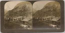 STEREO Switzerland - Stereoscopic Suisse Zermatt And The Matterhorn - H. C. WHITE CO PUBLISHERS - Visionneuses Stéréoscopiques