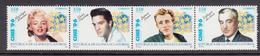 Guinea Equator MNH Elvis Presley , Marilyn Monroe , James Dean - Guinea Ecuatorial