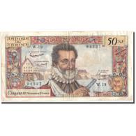 France, 50 Nouveaux Francs, 50 NF 1959-1961 ''Henri IV'', 1959, 1959-07-02, TB+ - 1959-1966 ''Nouveaux Francs''
