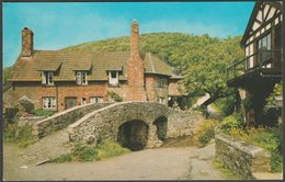 Pack-Horse Bridge, Allerford, Somerset, C.1970 - Photo Precision Postcard - England