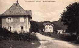 Brémoncourt: Bureaux -Frontière. - France