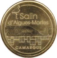 30 GARD AIGUES MORTES LES SALINS N°6  MÉDAILLE MONNAIE DE PARIS 2014 JETON TOKEN MEDALS COINS - Monnaie De Paris