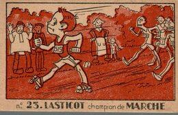 CHROMO P. ROUINTRU TOUT POUR LE MENAGE N° 23  LASTICOT CHAMPION DE MARCHE - Other