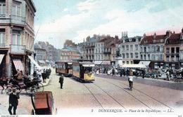 Tramway  - 59 Dunkerque Place De La République - Tramways