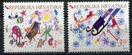 EUROPA CEPT 2004 CROATIE CROATIA N° YVERT 641 ET 642 ** Les Vacances** LUXE - Europa-CEPT