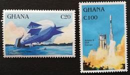 Ghana 1992 Anniversaries And Events - Ghana (1957-...)