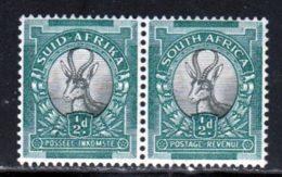 Afrique Du Sud 1934 Yvert 64 - 66 ** TB Paire - South Africa (...-1961)