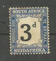 Afrique Du Sud Timbre TAXE N°20 Neuf Avec Charnière* Cote 8 Euros - Timbres-taxe