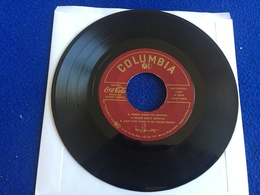"""45 RPM (EP) Columbia Record: Tony Bennett Coco Cola Medley; """"Rags To Riches"""" """"Cold Cold Heart"""" Plus 4 - Hit-Compilations"""