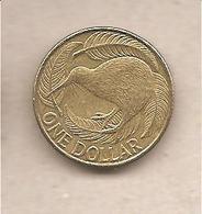 Nuova Zelanda - Moneta Circolata Da 1 Dollaro - 2002 - Nuova Zelanda