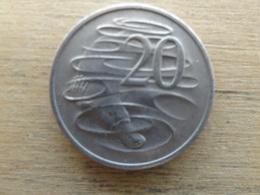 Australie  20  Cents  1973  Km 66 - Monnaie Décimale (1966-...)
