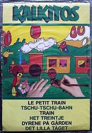 DECORAMA DECALCOMANIES TRANSFERT KALKITOS - Le Petit Train - Vieux Papiers