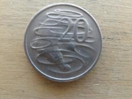 Australie  20  Cents  1968  Km 66 - Decimal Coinage (1966-...)