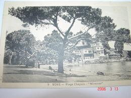 C.P.A.- Afrique - Algérie - Bône Ou Annaba - Plage Chapuis - Hôtel Miramar - 1939 - SUP (AZ 2) - Annaba (Bône)