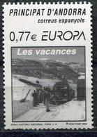 EUROPA CEPT 2004 LES VACANCES ANDORRA ESPAÑOLA SPANISH ANDORRE  Neufs / Mint - LUXE ** - Europa-CEPT