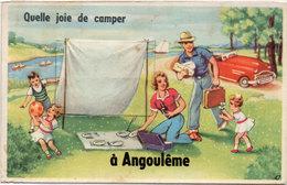"""Dépliant 10 Vues - Quelle Joie De Camper A """"ANGOULEME"""" ....    .. (1458 ASO) - A Systèmes"""