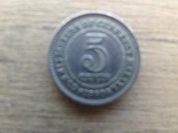 Malaya  5  Cents  1950  Km 7 - Malaysia