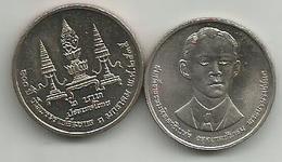 Thailand 2 Baht 1992 (2535) Y#248 100th Anniversary Of Birth Of Prince Father Mahidol Adulyadej - Thaïlande