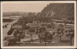 Postcard United Kingdom - Torquay - View From Pavilion Terrace - Torquay
