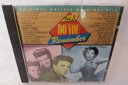 """CD """"Do You Remember"""" Original Artists - Original Hits, Vol. 3 - Compilations"""