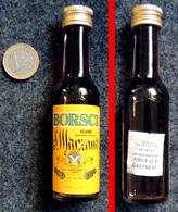 Ancienne Mignonnette Liqueur Italienne BORSCI élixir Oriental SAN MARZANO 30ml - Mignonnettes