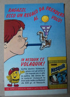 MONDOSORPRESA, PUBBLICITA' (PB75) NESTLE' NESQUICK VOLAQUIK - Kinder & Diddl