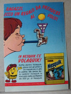 MONDOSORPRESA, PUBBLICITA' (PB76) NESTLE' NESQUICK VOLAQUIK - Kinder & Diddl