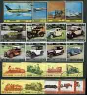 Lot 0100 -  Ob - Lot 20 Tbres - Transports Divers - Timbres