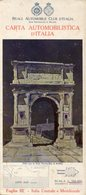 CARTA AUTOMOBILISTICA D'ITALIA Foglio III, Italia Centrale E Meridionale, Scala 1:500.000, 1931 - OTTIMA P53 - Carte Stradali
