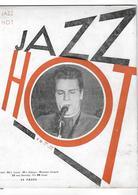 Jazz Hot N° 36 Septembre 1949 - Thelonius Monk - Omer Siméon - Musique