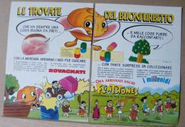 MONDOSORPRESA, PUBBLICITA' (PB82) ROVAGNATI, FLINSTONES - Kinder & Diddl